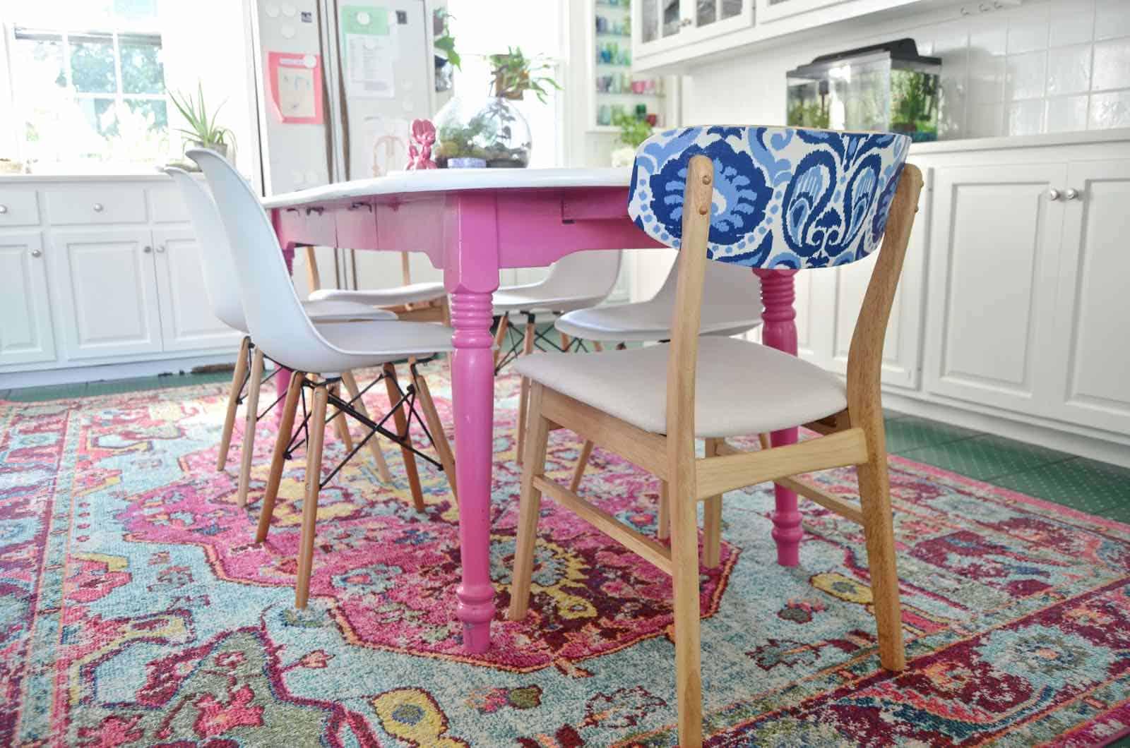 kitchen chair update