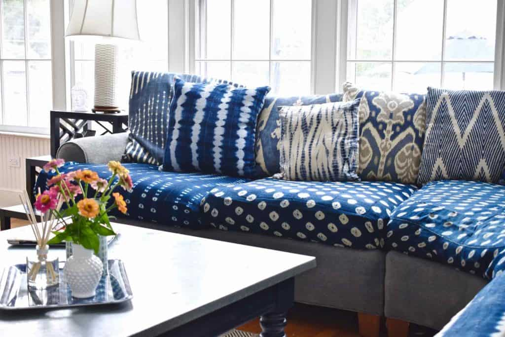 Indigo Updates for our Family Room