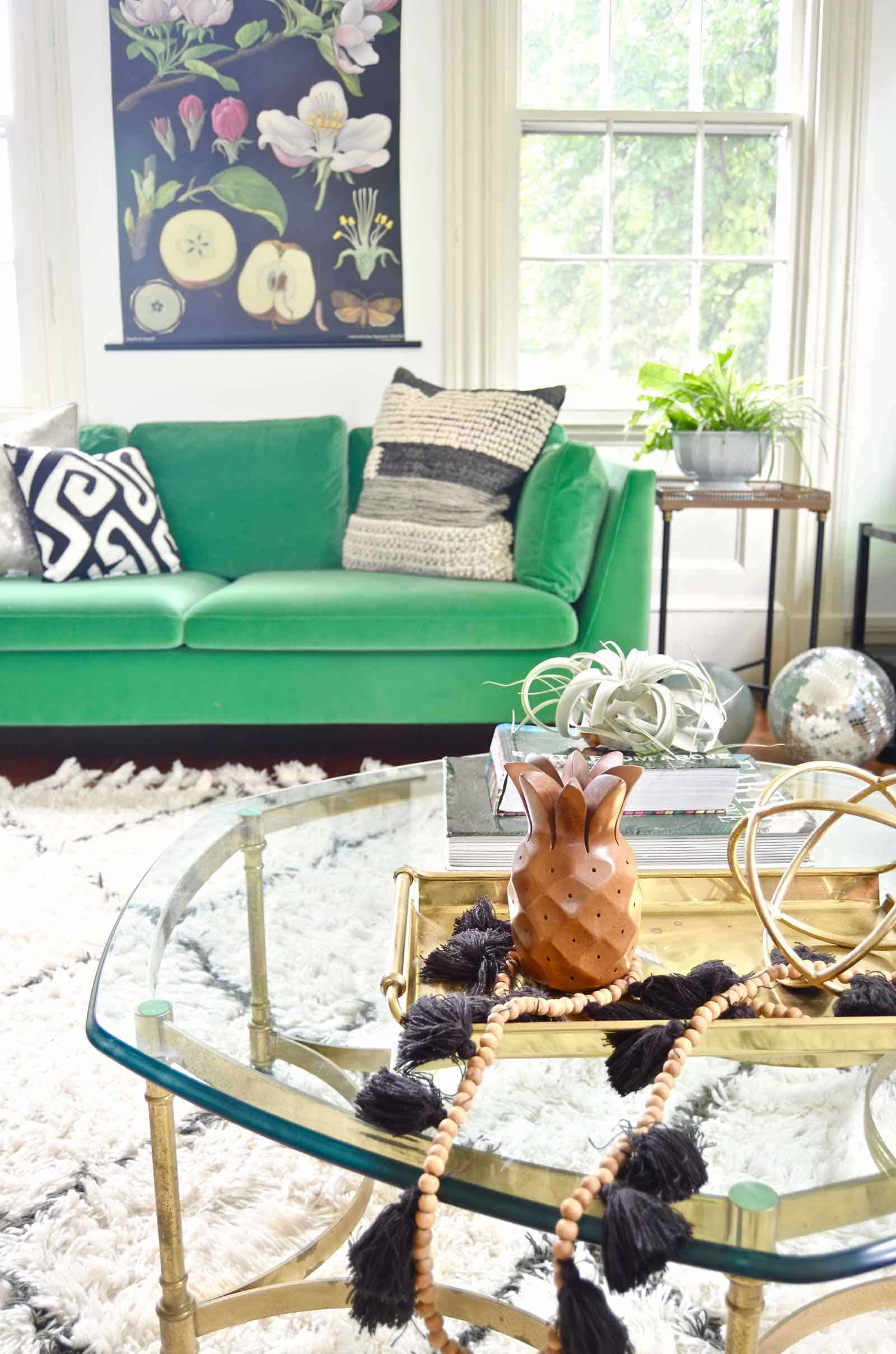 transitional decor from summer to fall