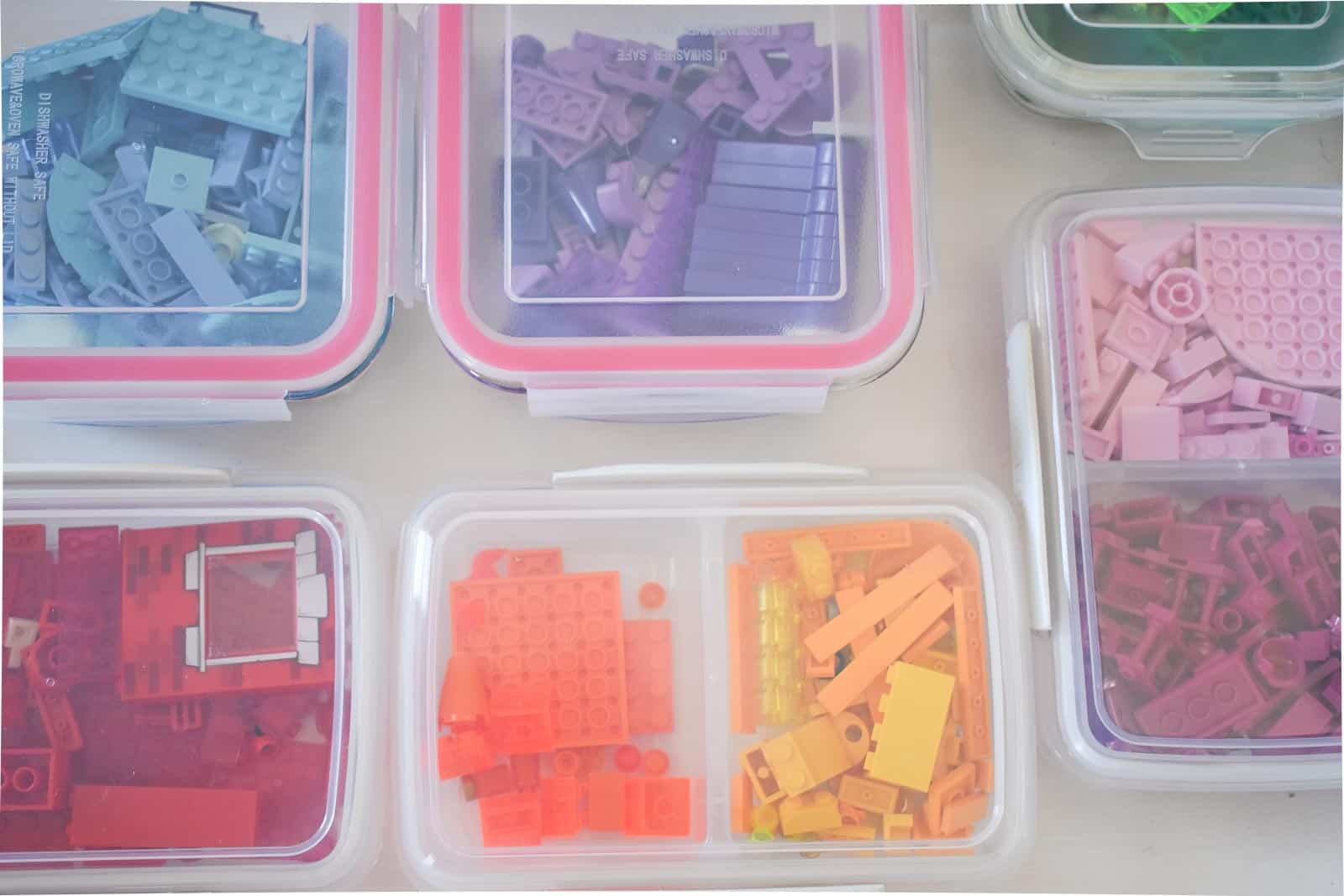 plastic containers for lego