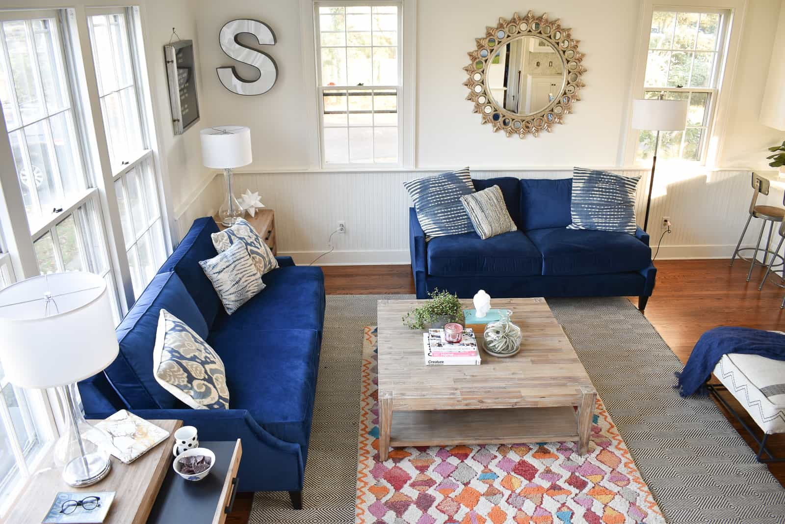 How And Why To Layer Rugs. New Improved Family Room