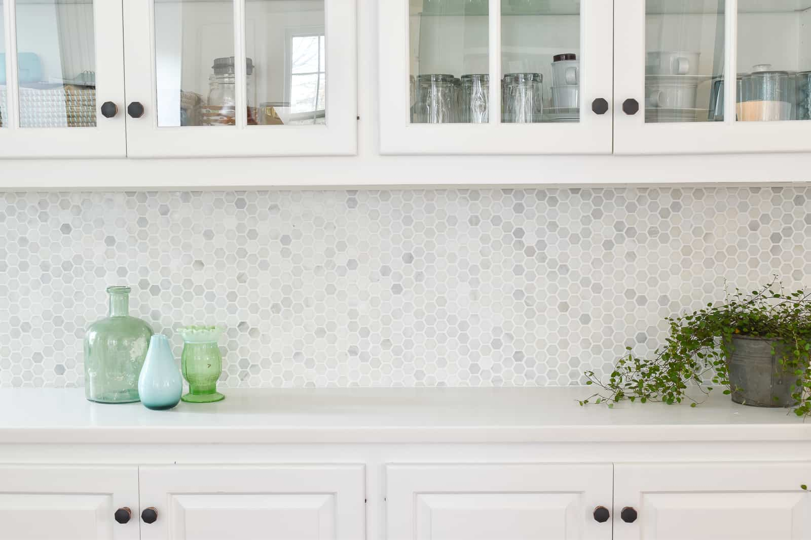 new improved kitchen backsplash tile