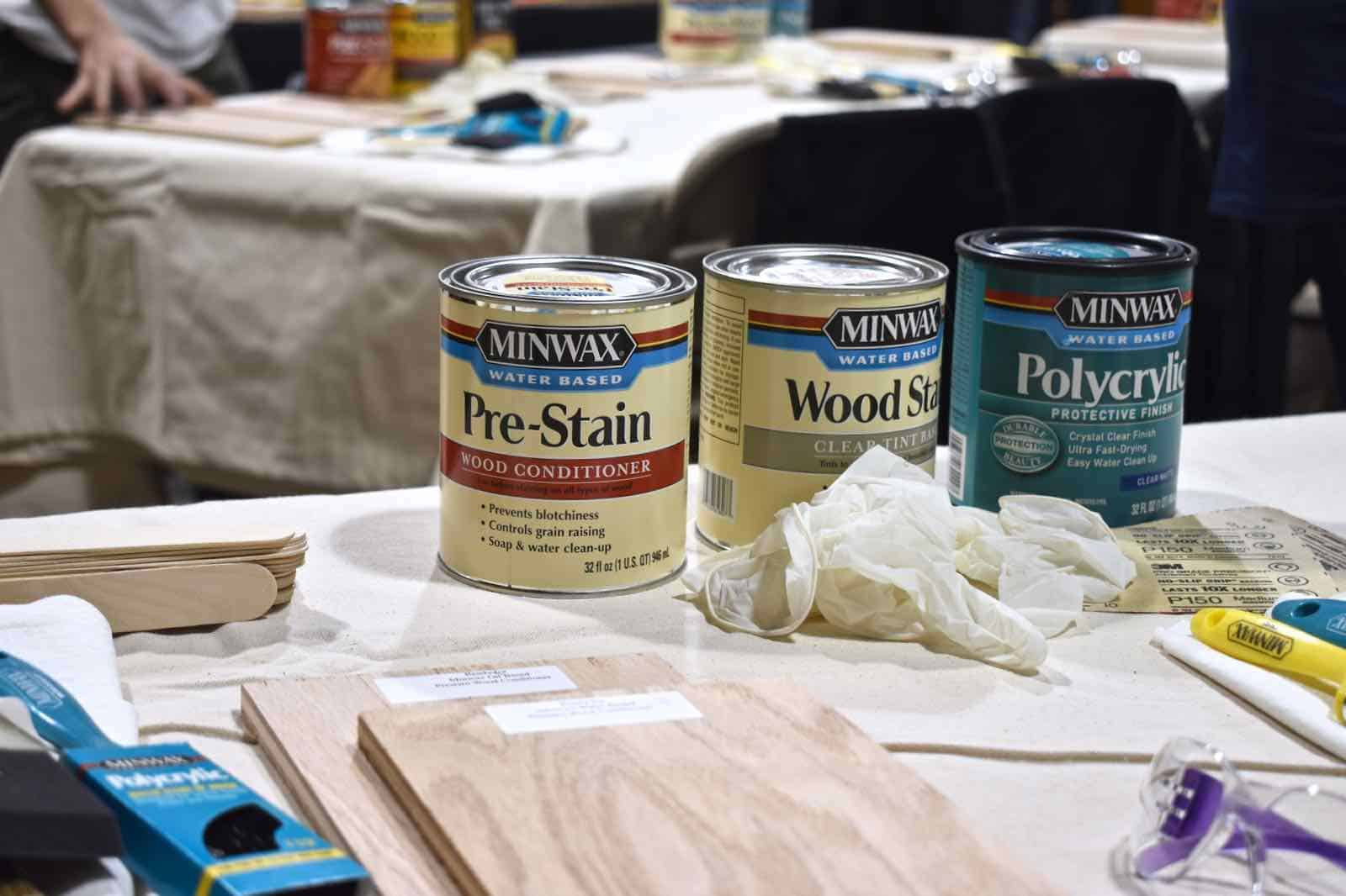 minwax wood stains
