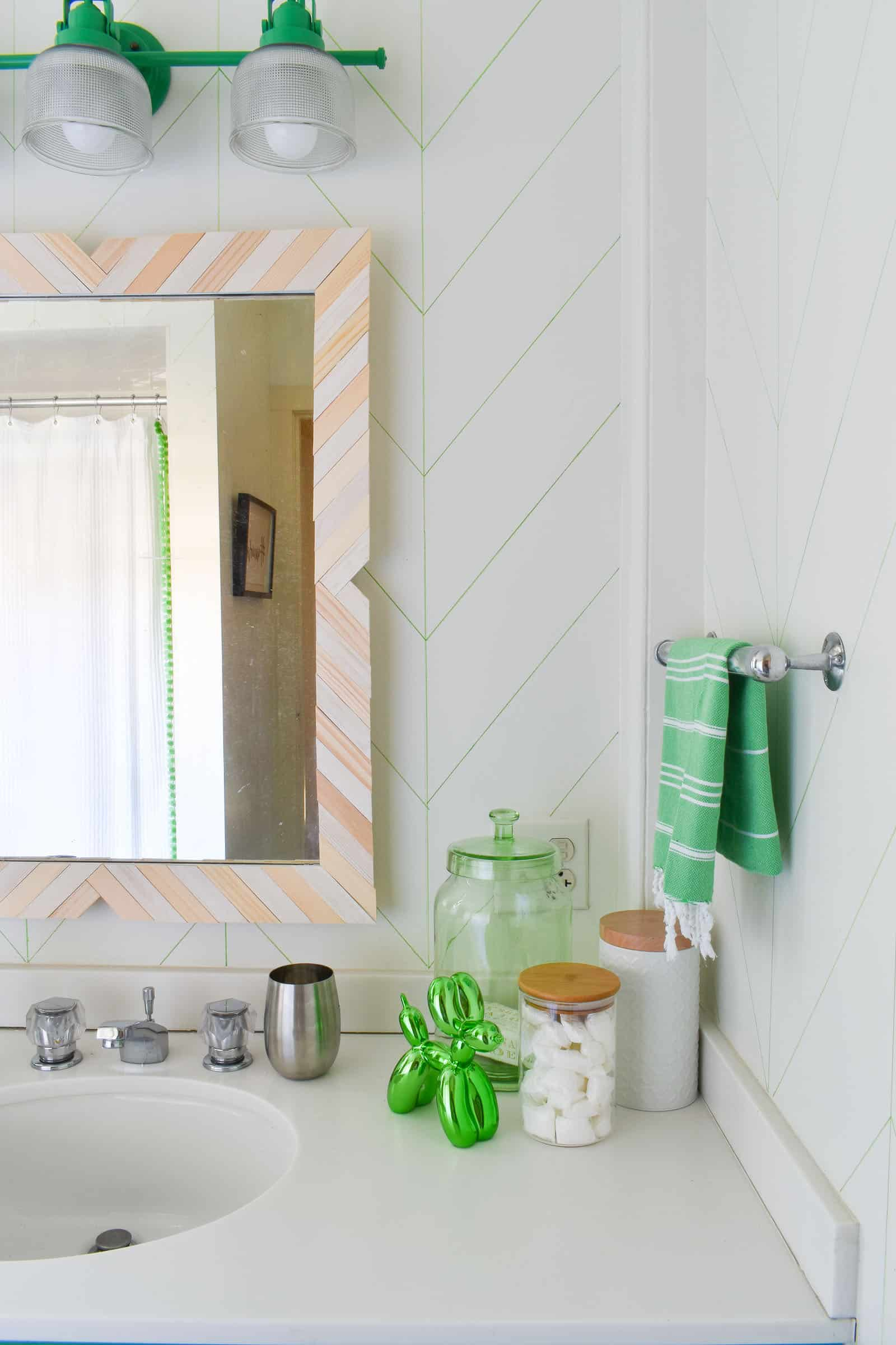$60 budget bathroom makeover