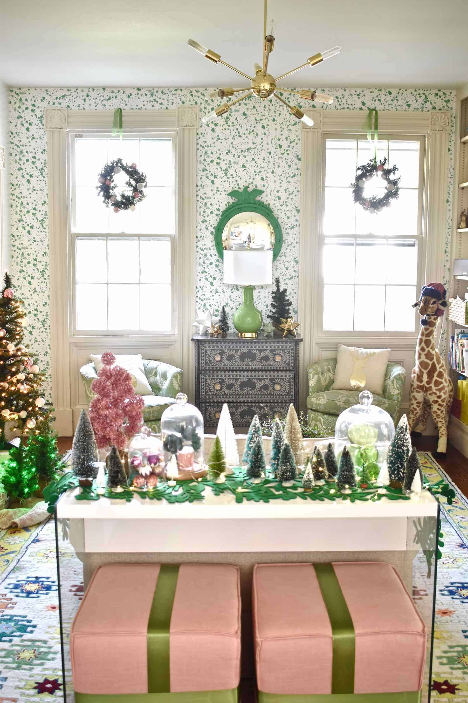 holiday decor playroom