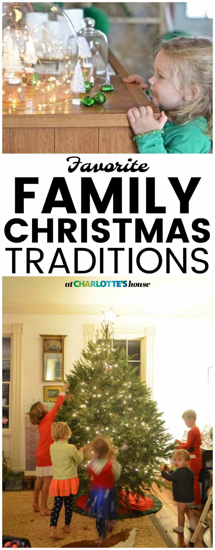 some of our easy to handle family christmas traditions