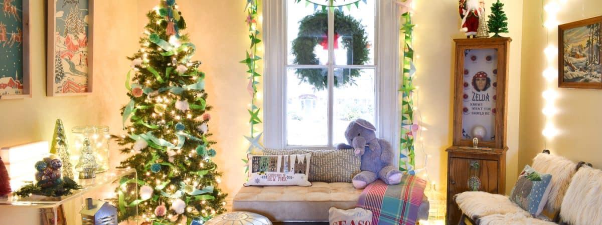 Retro Decor for Santa's House