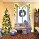 holiday decor for Santa