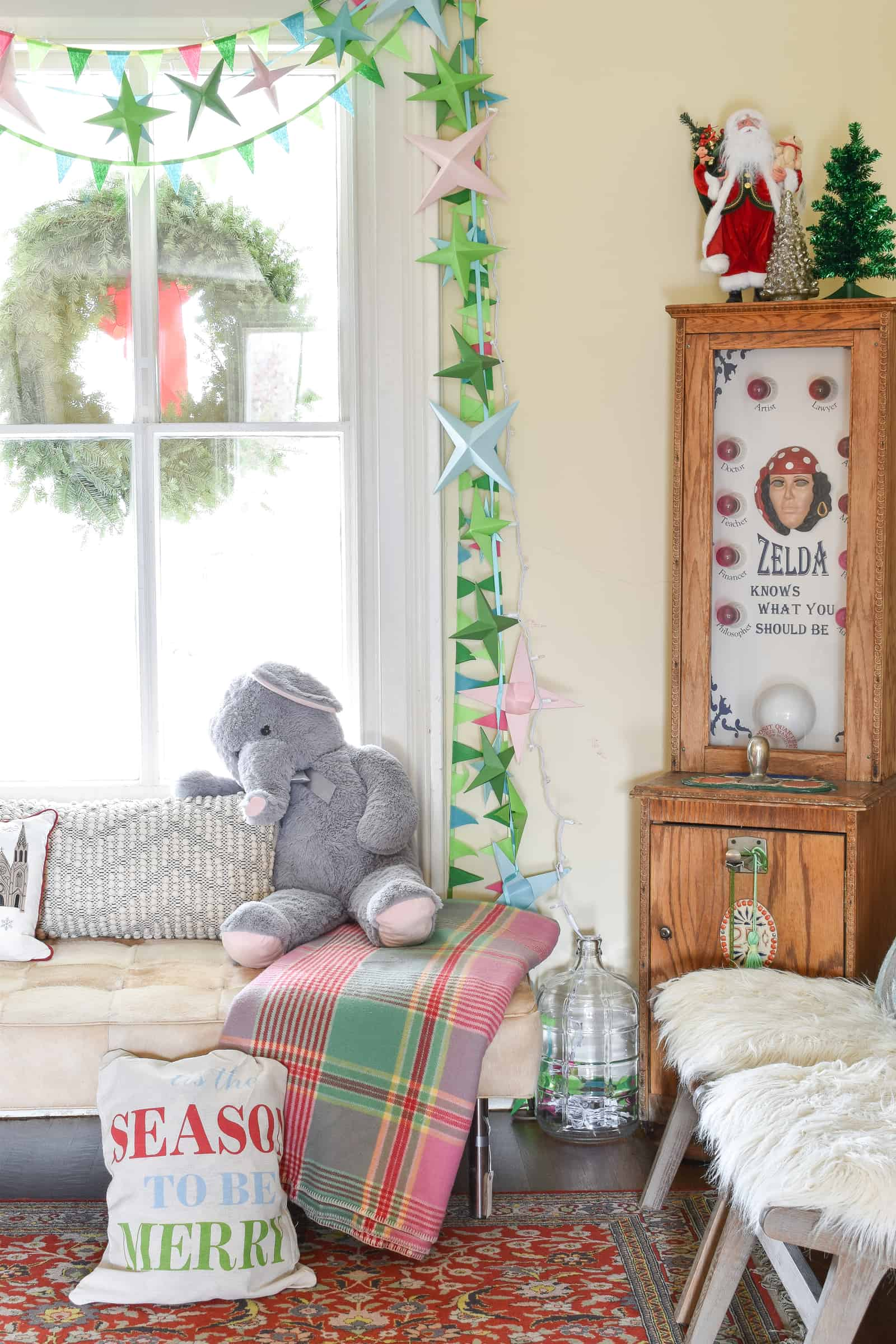 flea market details in holiday space