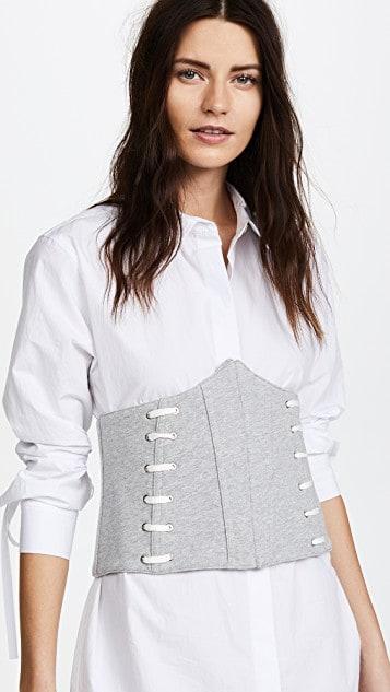 millennial shopping corset