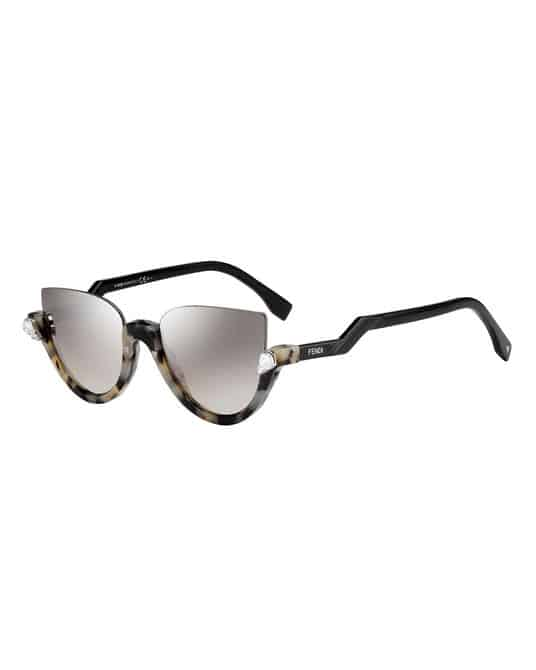 millennial shopping sunglasses