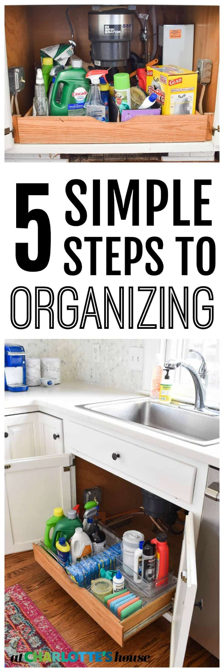 simple steps to take to keep yourself organized