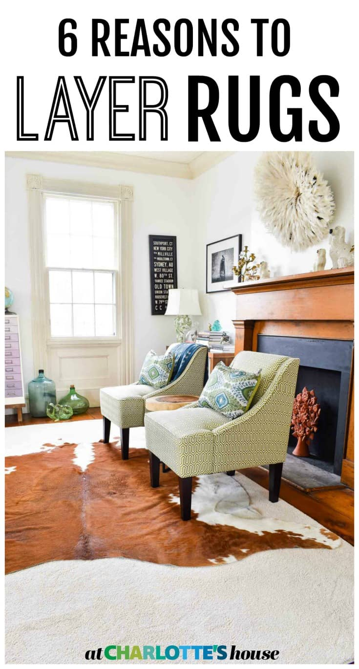 why and how to layer rugs in your home