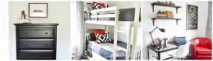 Shared Boys Bunk Room- Bloggers Heart Habitat