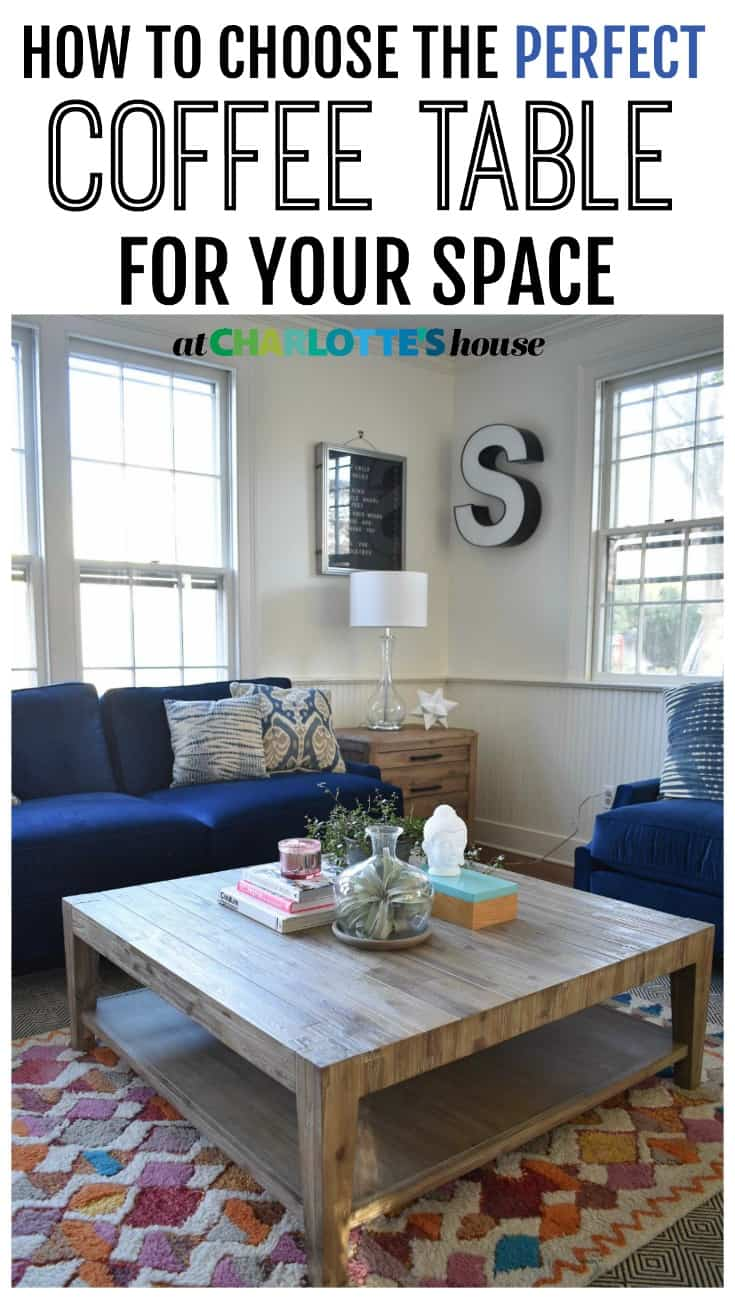 How to choose the right coffee table for any space