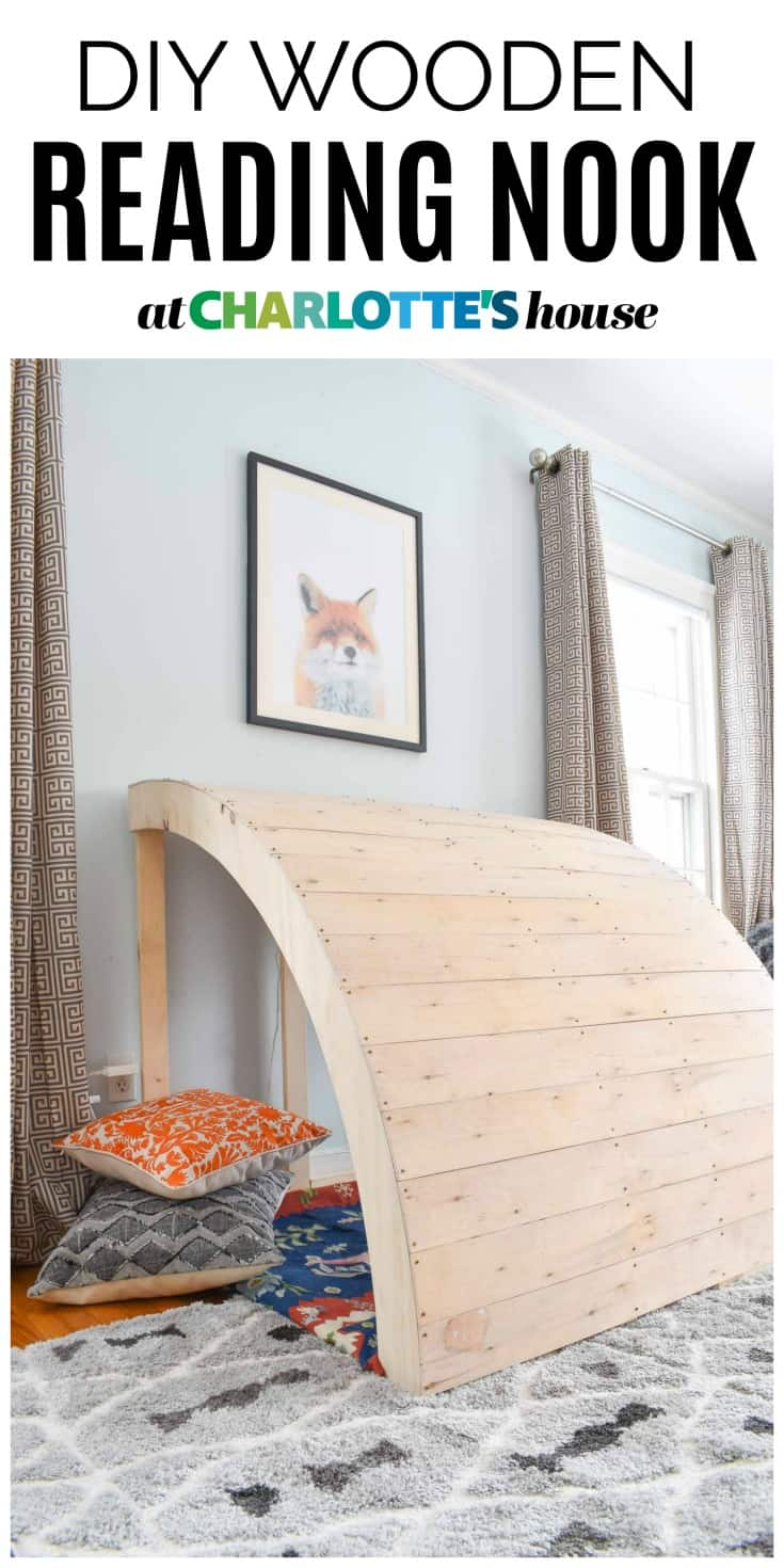 diy reading nook for kids room