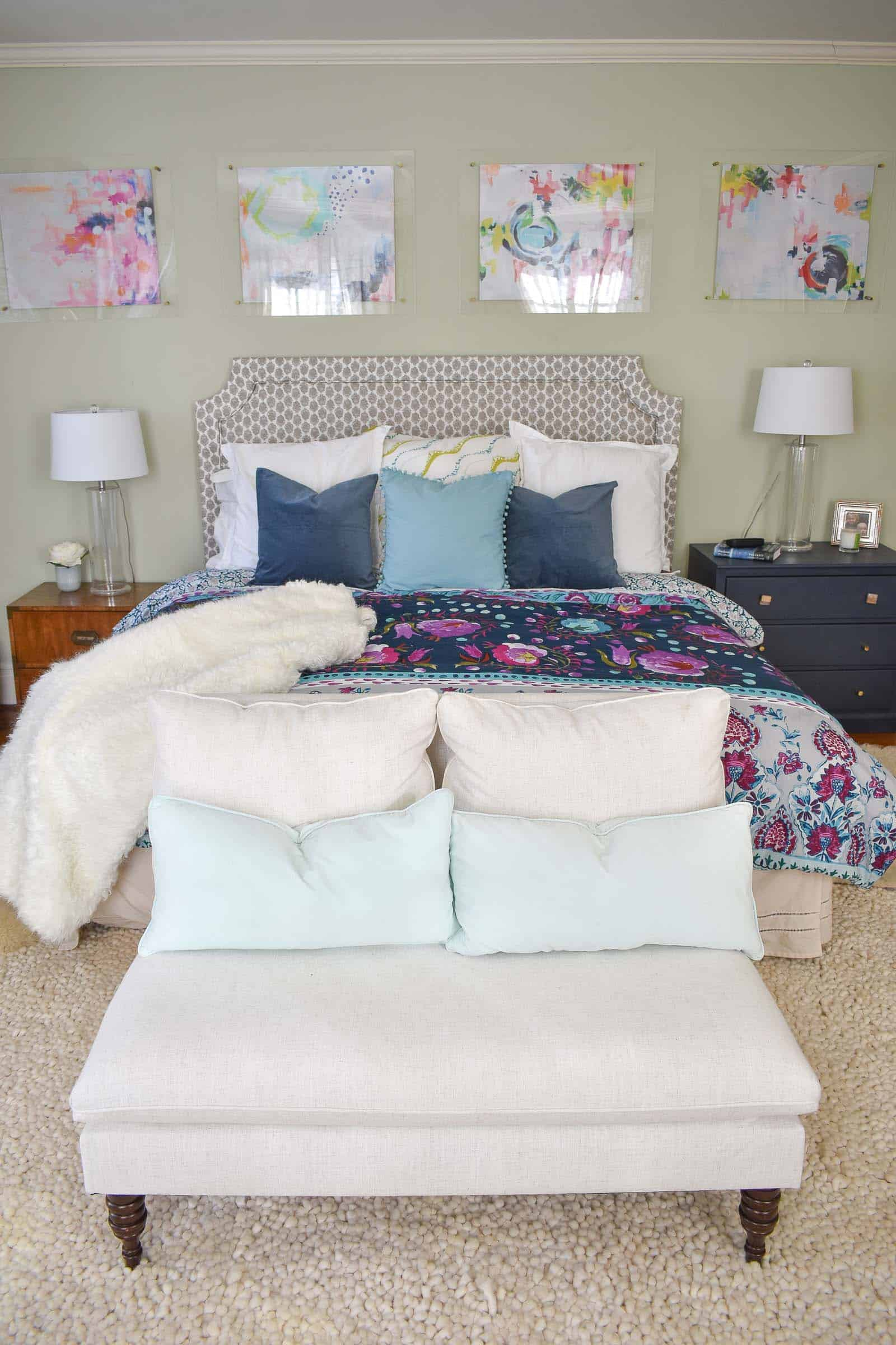 easy tips to making your bed