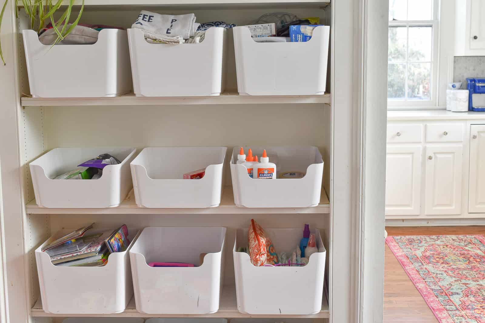 storage bins for the family