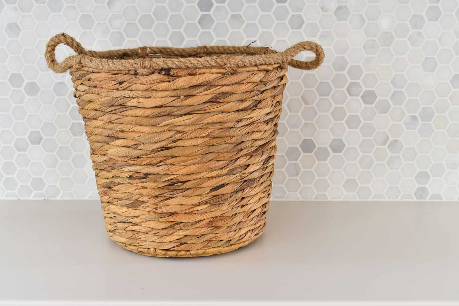 plain basket from homegoods