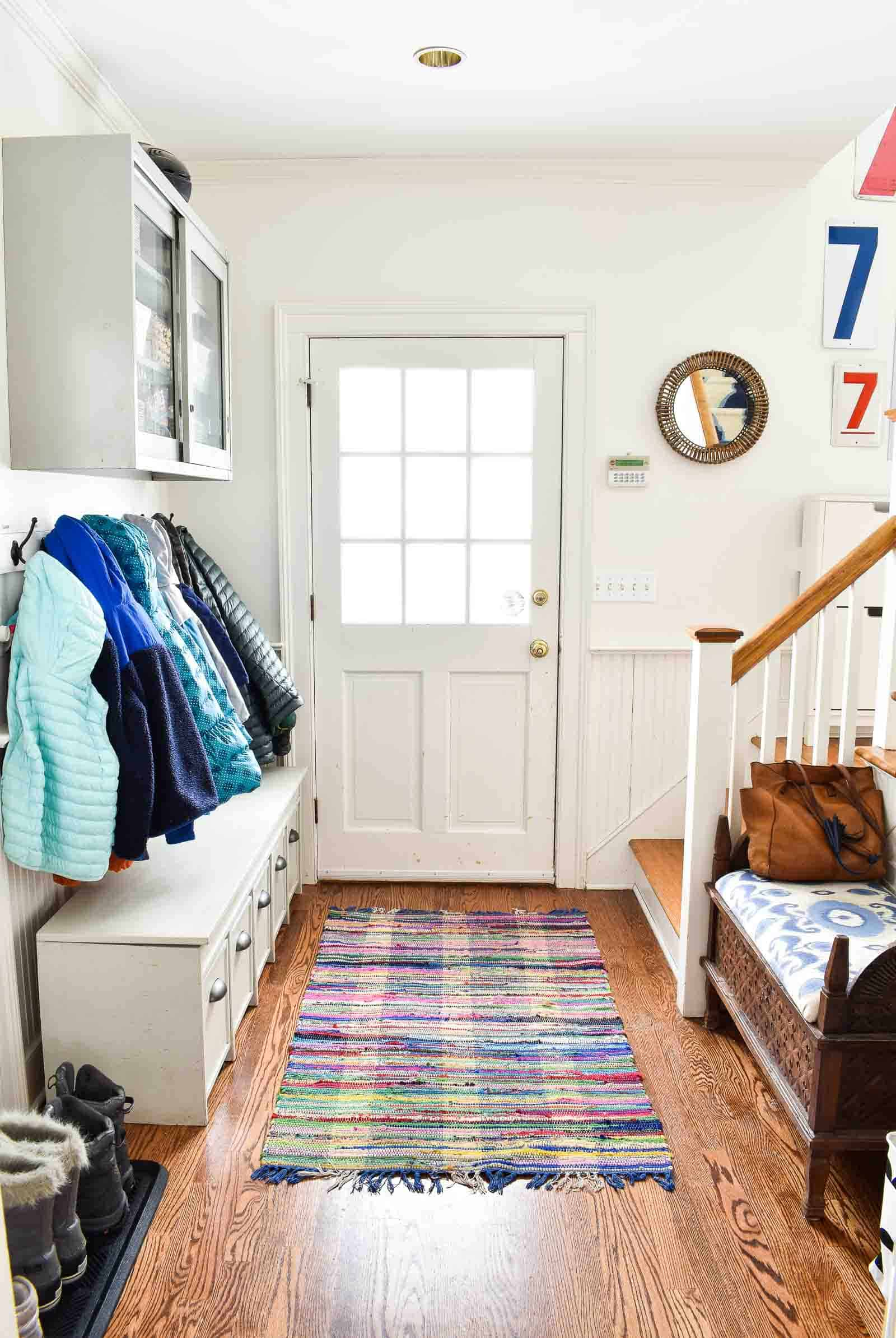 mudroom storage solutions