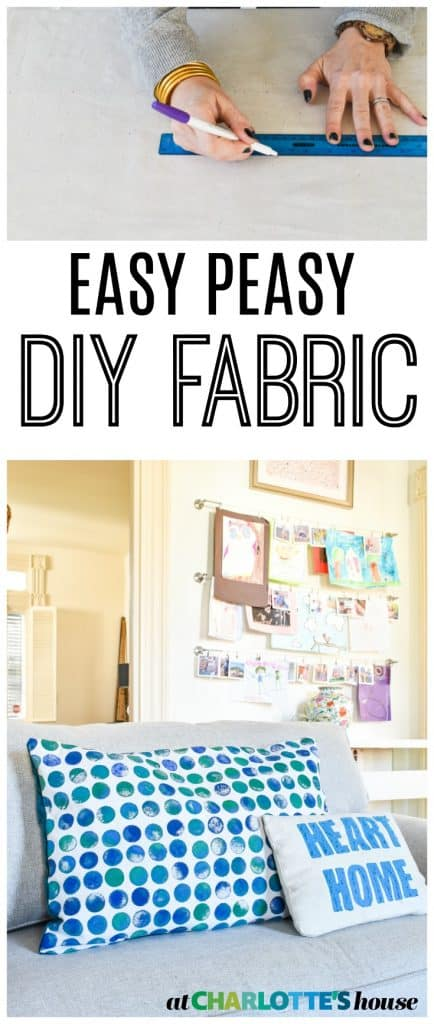 make your own fabric in no time... love that I can customize this so easily