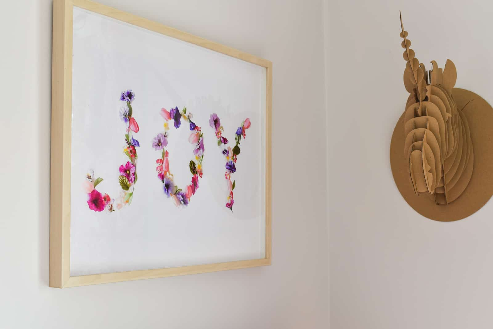 floral word art