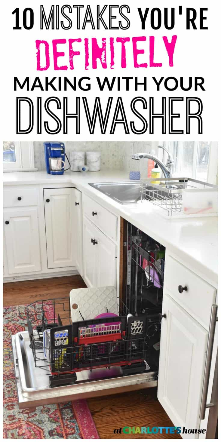 these were all mistakes i was making until i got our new dishwasher and did some research