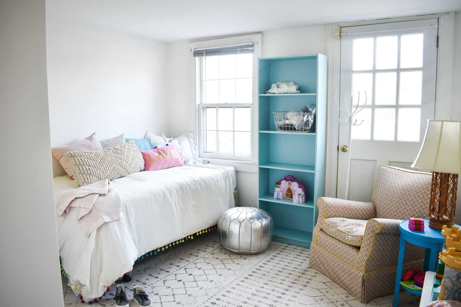 update for dueling DIY guest room
