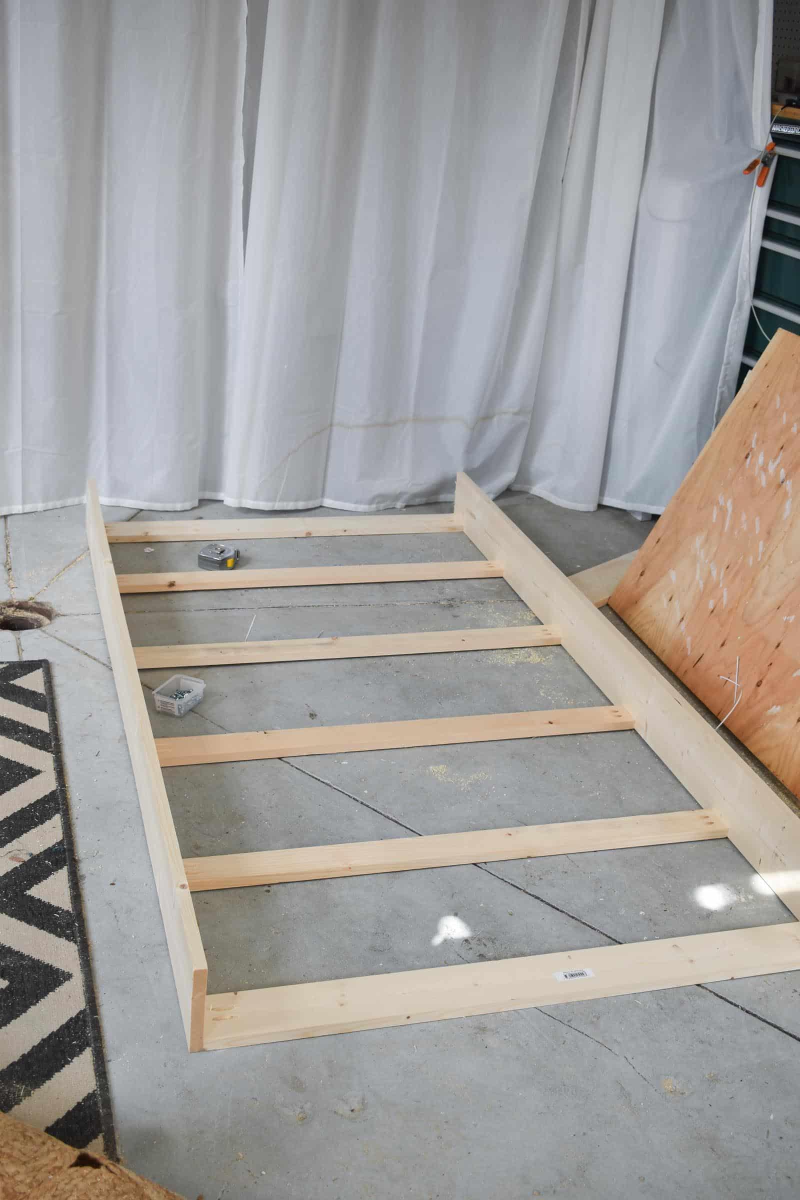 preliminary bed frame