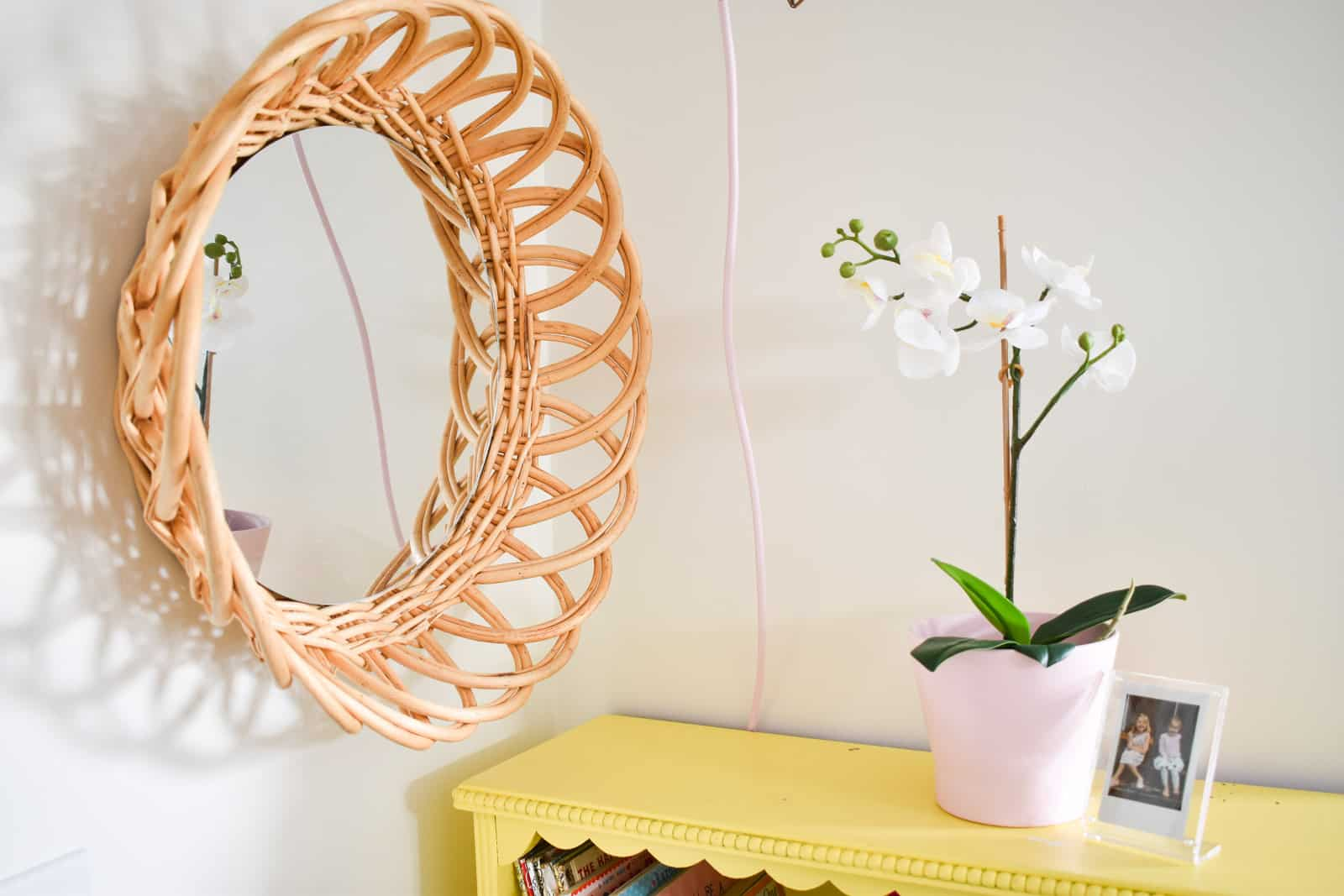 make your own boho mirror