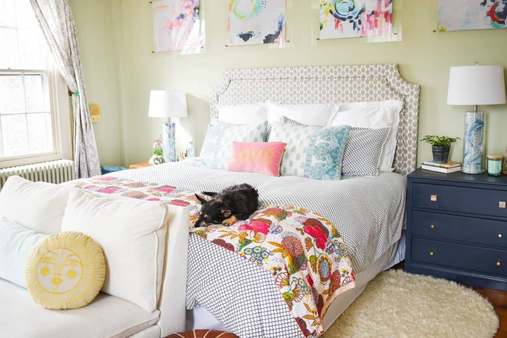 Spring Master Bedroom Reveal