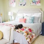 master bedroom spring update