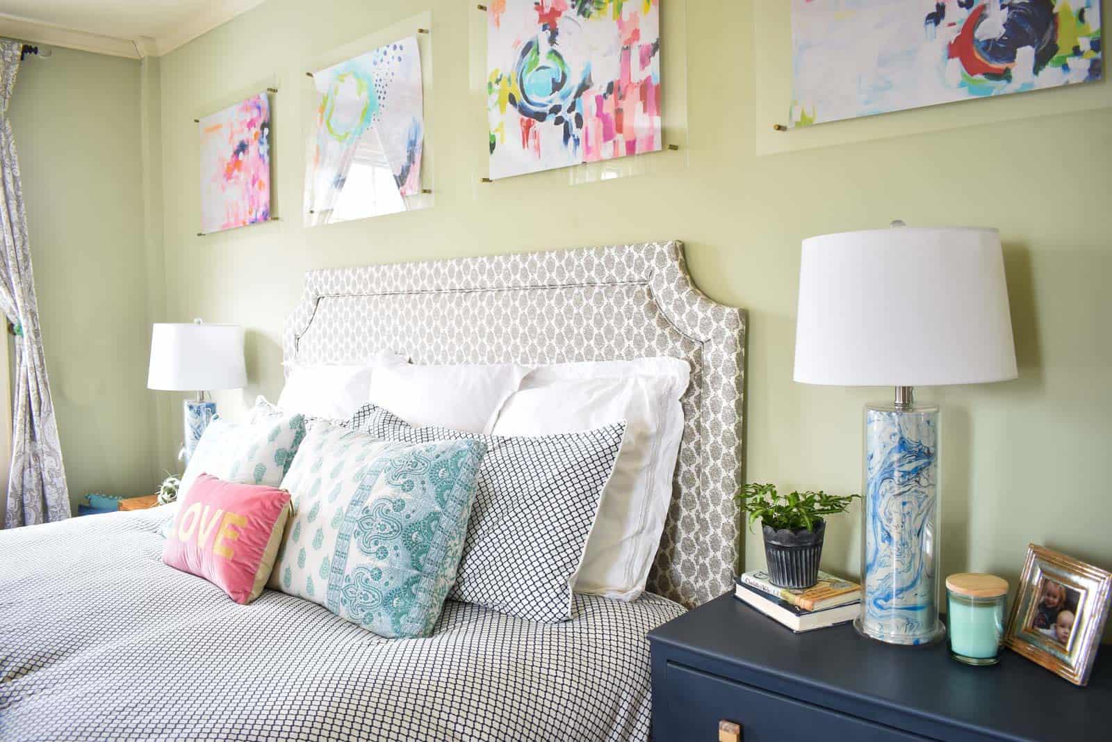 spring bedroom update