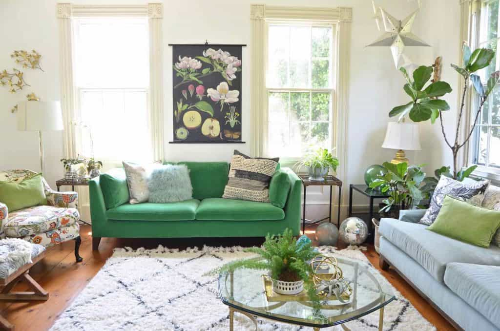 living room decor to stand up to kids