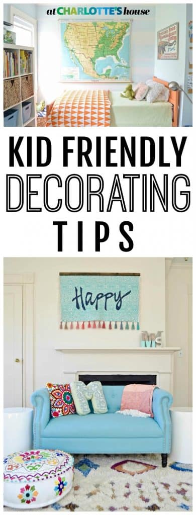 Just because you have a house full of kids, it doesn't mean you have to ignore style and design. I walk you through our house and share how and why I made the choices I did in order to have a decorated space that works with kids running around!