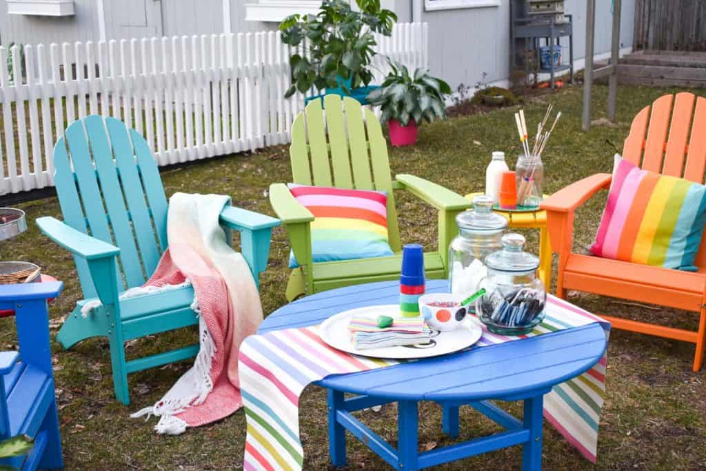 all weather POLYWOOD outdoor furniture
