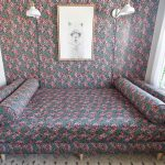 finished upholstered daybed