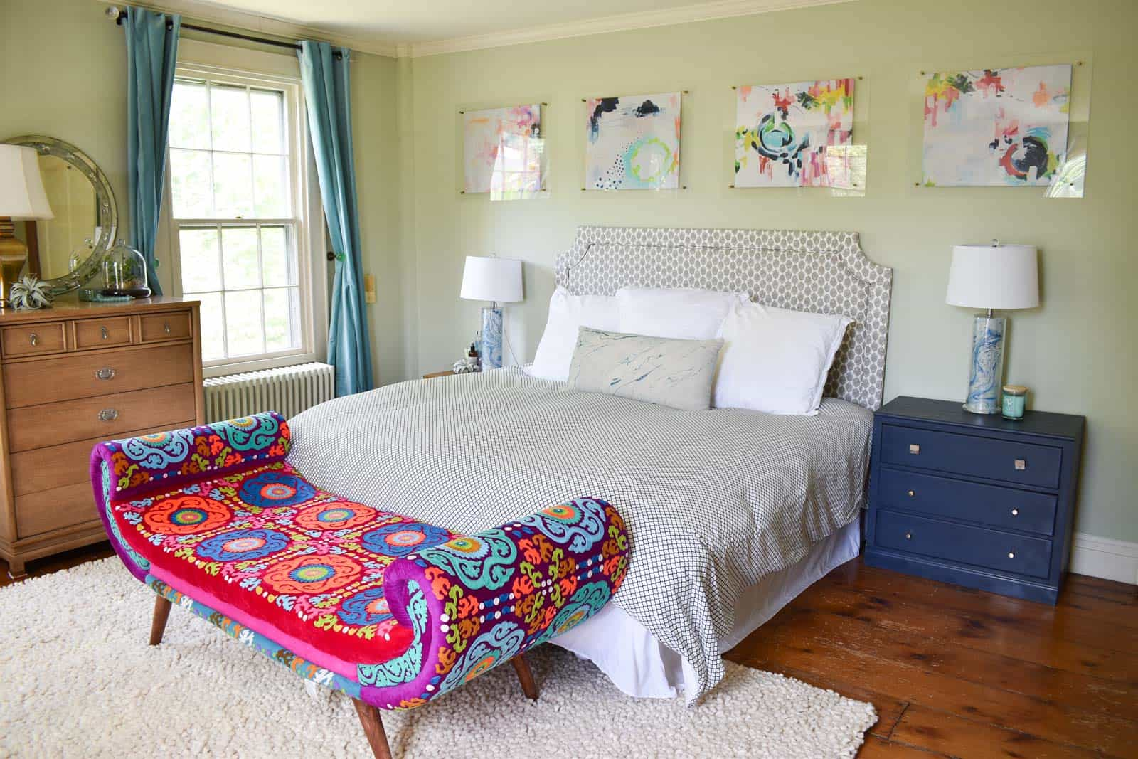 master bedroom for haven blog hop