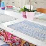 Make your own mudcloth placemat