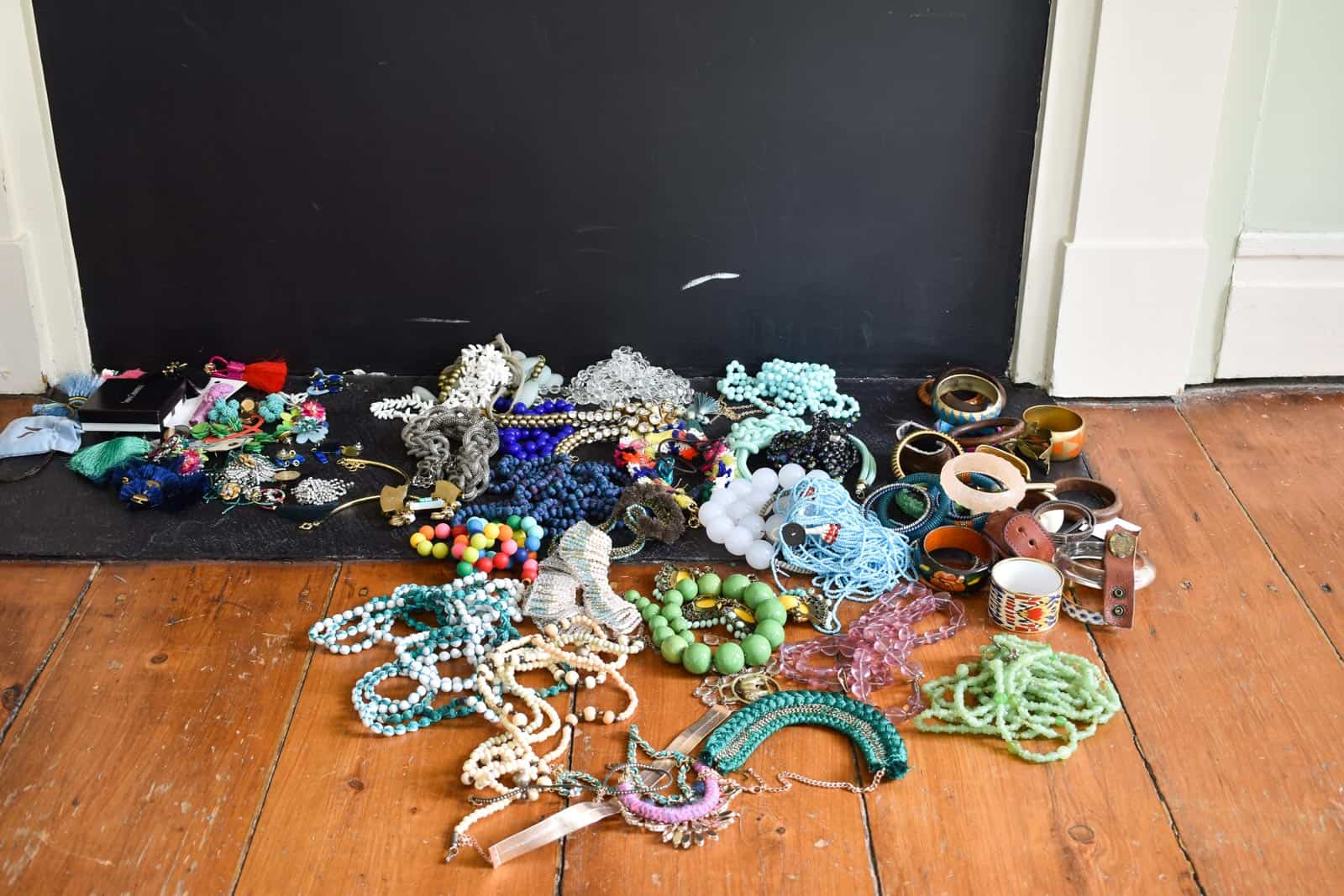 clear out all the jewelry