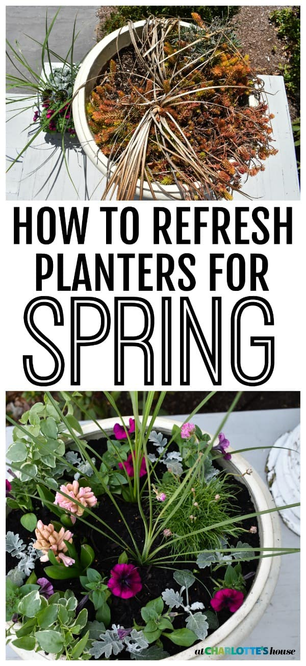 I'm pretty lazy when it comes to planting for spring... see which corners I cut and how I easily make these colorful spring planters