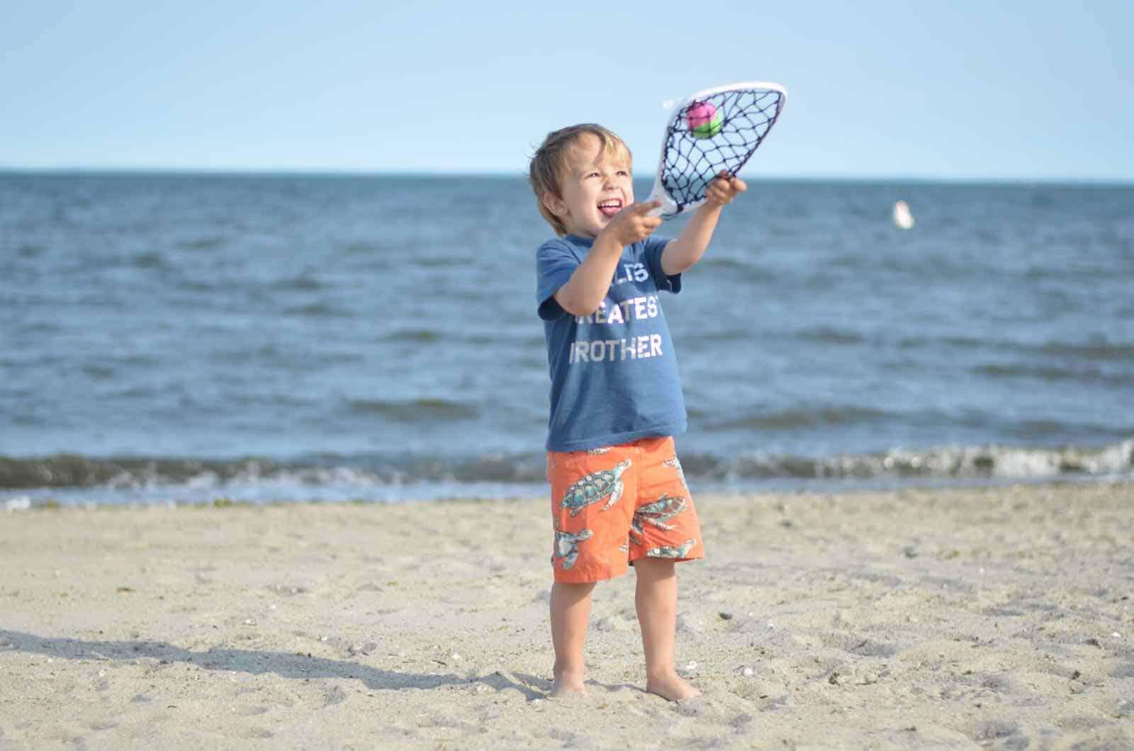 beach net ball
