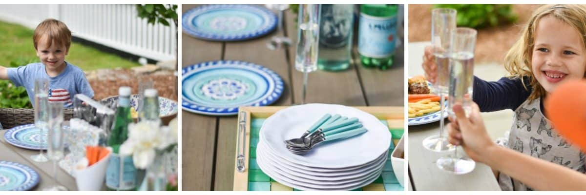 Outdoor Tablescape For Kids
