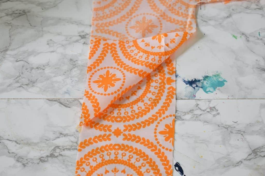 how to sew around the corners