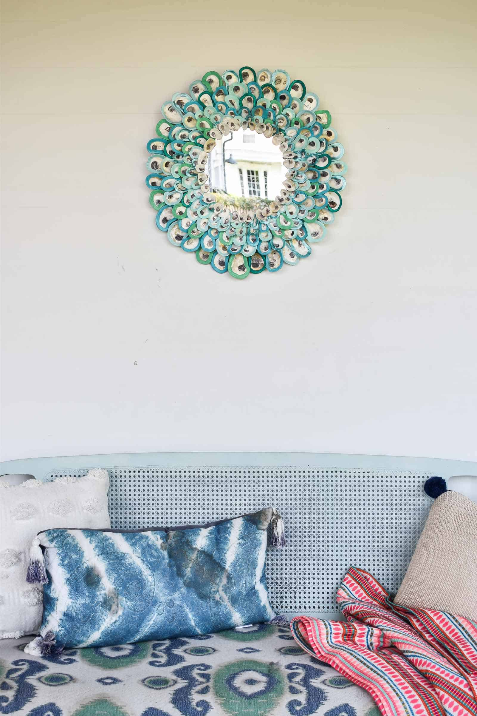 oyster shell mirror tutorial