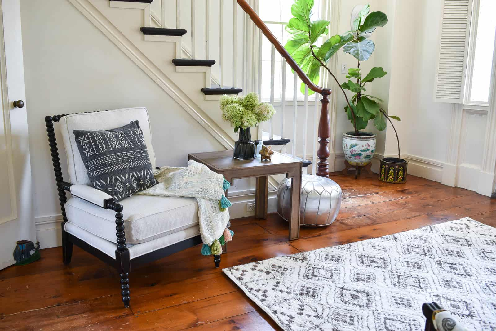 foyer updates with new furniture from bassett