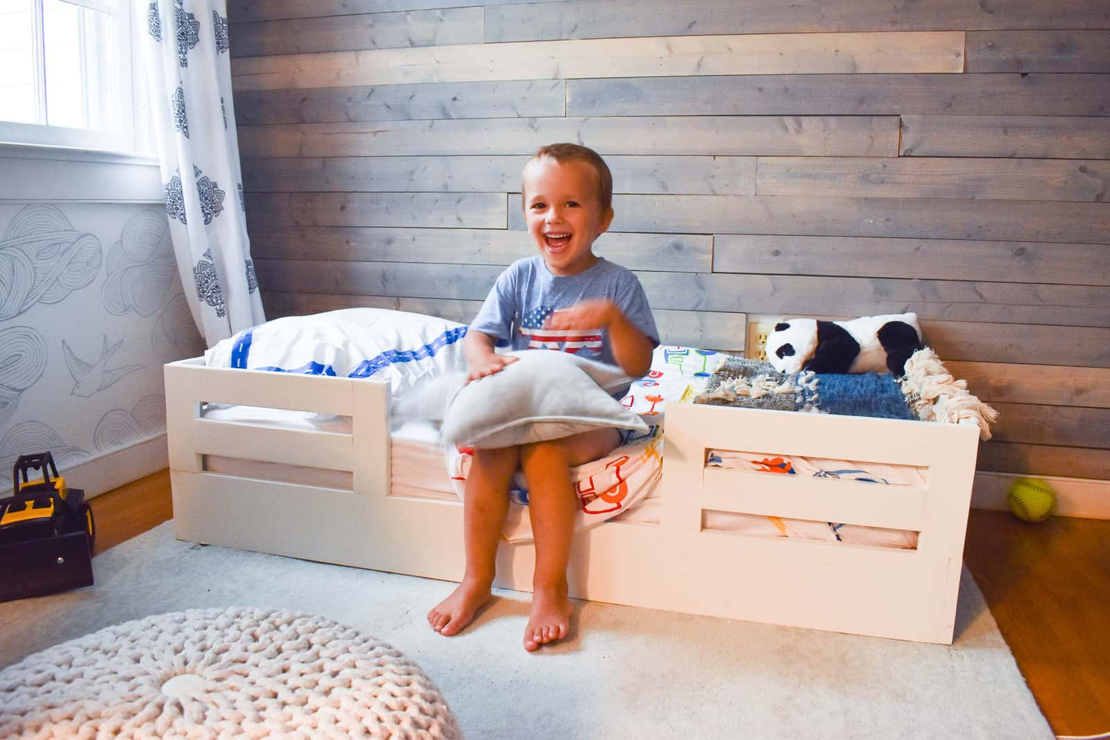 How To Build A Toddler Bed With Bed Rails At Charlotte S