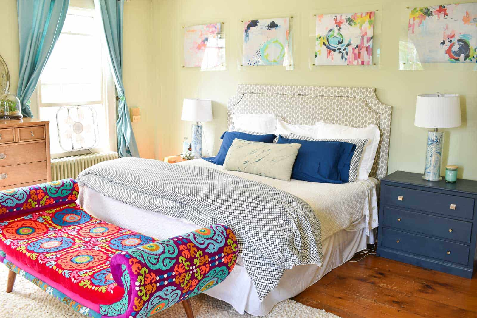 bedroom refresh with kohls summer sale
