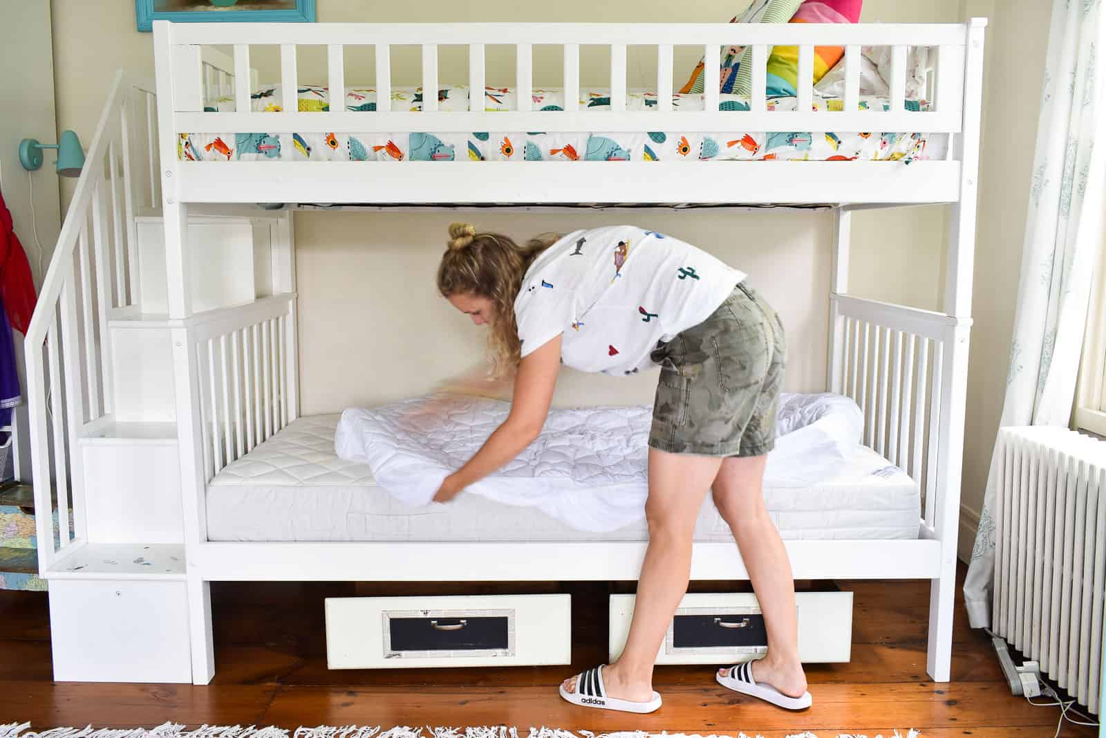 changing out mattress bad for girls room