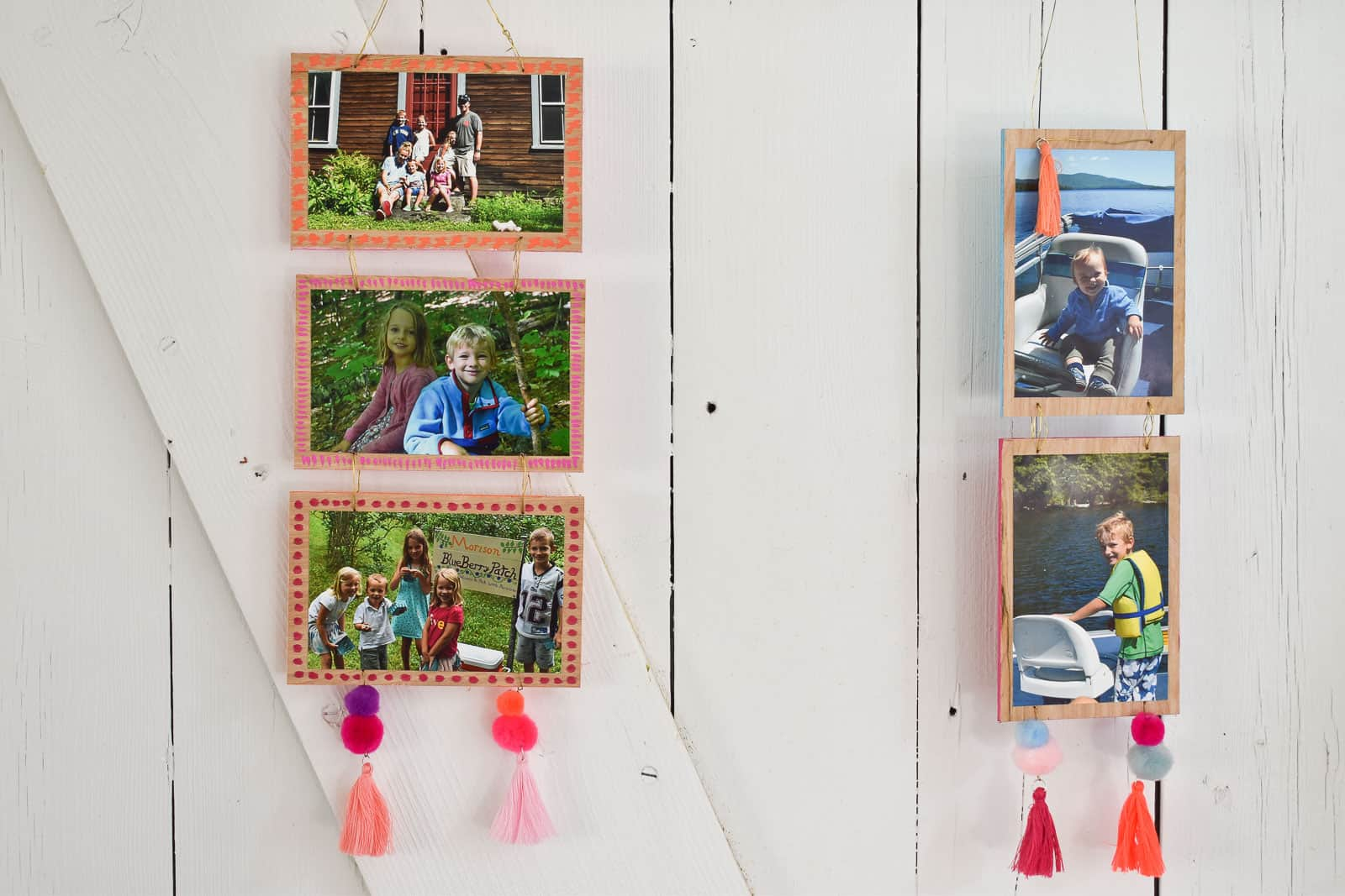 crafting with vacation photos